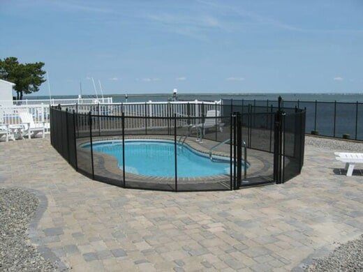 Polyester Fence - Pool Enclosure in Philadelphia, PA