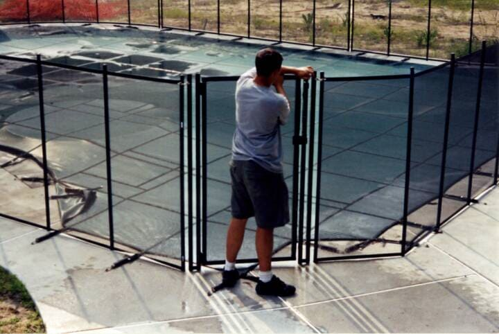 child pool safety fence installation Burlington County, New Jersey