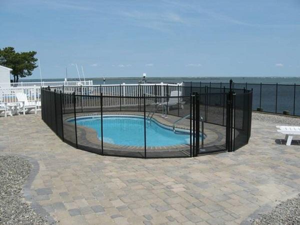 pool fence Camden County