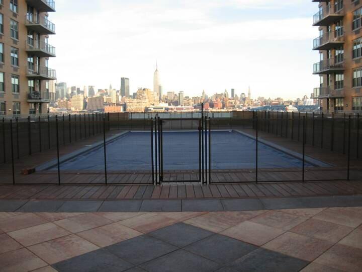 mesh pool fence installer in Ocean County, NJ