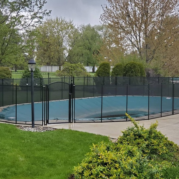 Life Saver mesh pool fence installed in Richboro, Bucks County, PA
