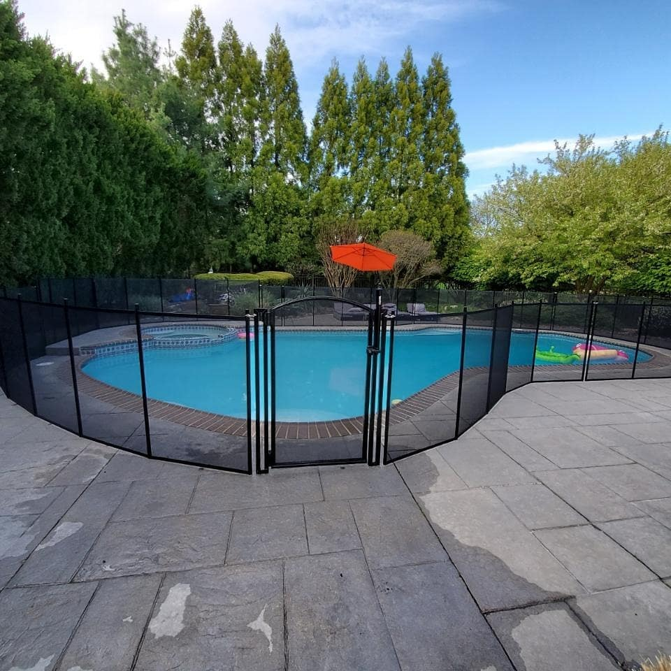 mesh pool fence installations in Gloucester County, New Jersey
