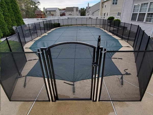 arch top pool safety gate